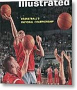 Ohio State Jerry Lucas... Sports Illustrated Cover Metal Print