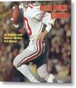 Ohio State Qb Art Schlichter... Sports Illustrated Cover Metal Print