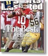 Ohio State Qb Troy Smith... Sports Illustrated Cover Metal Print