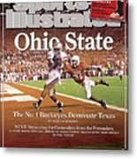 Ohio State Ted Ginn Jr... Sports Illustrated Cover Metal Print
