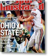 Ohio State University Qb Craig Krenzel, 2003 Tostitos Sports Illustrated Cover Metal Print