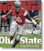 Ohio State Why The Buckeyes Can Win It, 2016 College Sports Illustrated Cover Metal Print