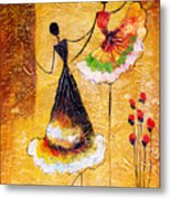 Oil Painting - Spanish Dance Metal Print