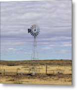Oklahoma Windmill Metal Print