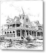 Old Daly Mansion Hamilton Montana Metal Print
