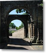 old historic town gate in Hexham Metal Print