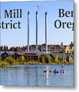 Old Mill District Bend Oregon Metal Print