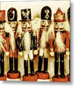 Old Nutcracker Brigade Metal Print