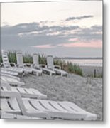 Old Orchard Beach Tranquil Morning Metal Print