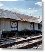 Old Train Depot In Gray, Georgia 2 Metal Print