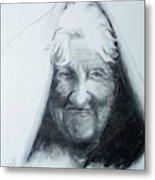 Old Woman Metal Print