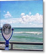 On A Clear Day You Can See Forever Metal Print