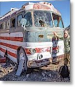 On Location Photographer Edward Fielding In Jerome Arizona Metal Print