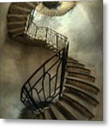 An Old Staircase Metal Print