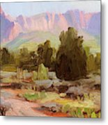 On The Chinle Trail Metal Print