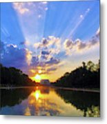 On The Lord's Side Metal Print