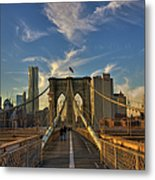 On The Way To Manhattan Metal Print