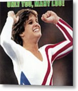 Only You, Mary Lou Sports Illustrated Cover Metal Print
