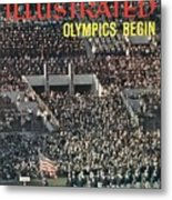 Opening Ceremony, 1960 Summer Olympics Sports Illustrated Cover Metal Print