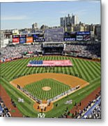 Opening Day Yankee Stadium. New York Metal Print