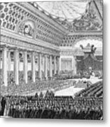 Opening Of The Estates General Metal Print
