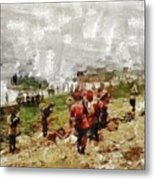Operation Cottage, Wwii Metal Print