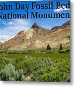 Oregon - John Day Fossil Beds National Monument Sheep Rock 1 Metal Print