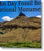 Oregon - John Day Fossil Beds National Monument Sheep Rock 2 Metal Print