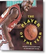Oregon State Gary Payton Sports Illustrated Cover Metal Print