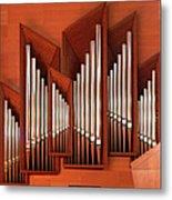 Organ Of Bilbao Jauregia Euskalduna Metal Print