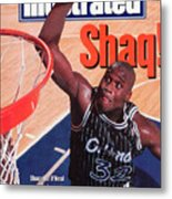 Orlando Magic Shaquille Oneal... Sports Illustrated Cover Metal Print