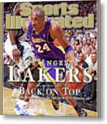 Orlando Magic Vs Los Angeles Lakers, 2009 Nba Finals Sports Illustrated Cover Metal Print