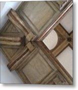 Wood Ornament Metal Print