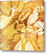 Ornamental Spring Metal Print