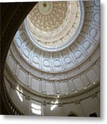 Ornate Round Dome Of The Capital Metal Print