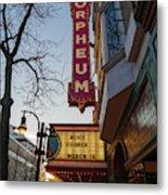 Orpheum Theater Madison, Alice Cooper Headlining Metal Print