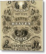 Our Father Who Art In Heaven, 1876 Metal Print