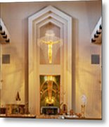 Our Lady Of The Universe Cathedral Metal Print