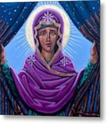 Our Lady Who Removes Walls Metal Print