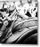 Out Of The Saddle Metal Print