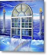 Outpouring Metal Print
