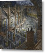 Over London By Rail From London, A Pilgrimage Metal Print