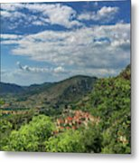Over Roccassecca  Metal Print