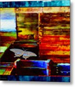 Painted Shadows Of A Different Love And Time Metal Print