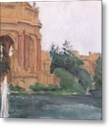 Palace Of Fine Arts, 2018 Metal Print