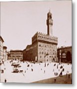 Palazzo Vecchio In Florence Metal Print