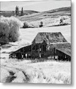 Palouse Barn Ir 9305 Metal Print