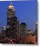 Panorama Of Atlanta, Georgia Metal Print