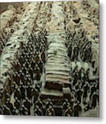 Panorama Of Pit 1, Terra Cotta Warriors Metal Print