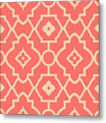 Pantone Pattern Metal Print